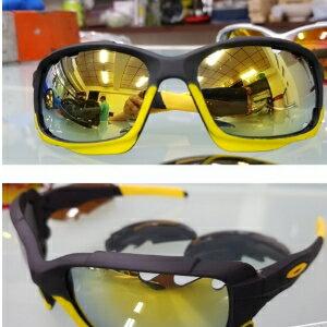 美麗大街【106080624】雙鏡組 自行車運動眼鏡 抗UV400