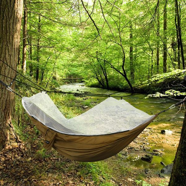 Oxford Mesh Waterproof Hanging Folding Garden hammock 5