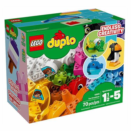 樂高積木LEGO《LT10865》2018年Duplo得寶系列-FunCreations