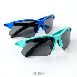 墨鏡 運動休閒兒童太陽眼鏡 戶外運動款 柒彩年代【NY379】夏日必備單品