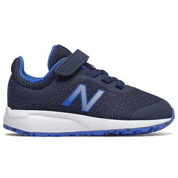 【IT455GR】NEW BALANCE NB455 運動鞋 慢跑鞋 黏帶 網布 小童鞋 學步鞋 Wide 深藍