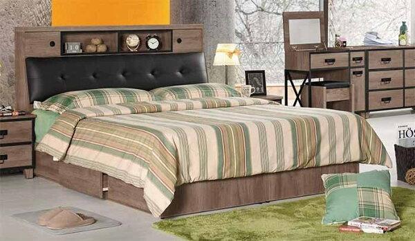 尚品傢俱:【尚品傢俱】CM-013-1哈珀6尺被櫥式雙人床(不含床墊.另有五尺)