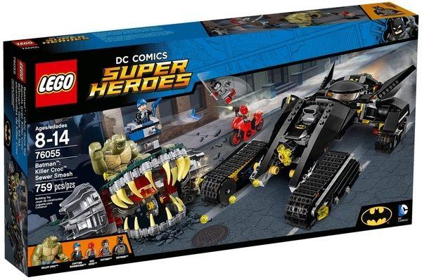 ~LEGO 樂高積木~SuperHeros系列~蝙蝠俠 殺手鱷摧毀下水道 LT~76055