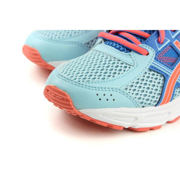 亞瑟士 ASICS GEL-CONTEND 4 GS 運動鞋 童鞋 藍色 大童 C707N-1406 no283 4