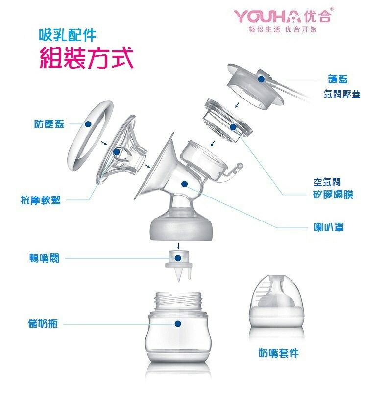 【優合配件專區】YOUHA 优合 大吸力 電動吸奶器 自動擠奶器 吸乳器 專用配件 耗材可詢問