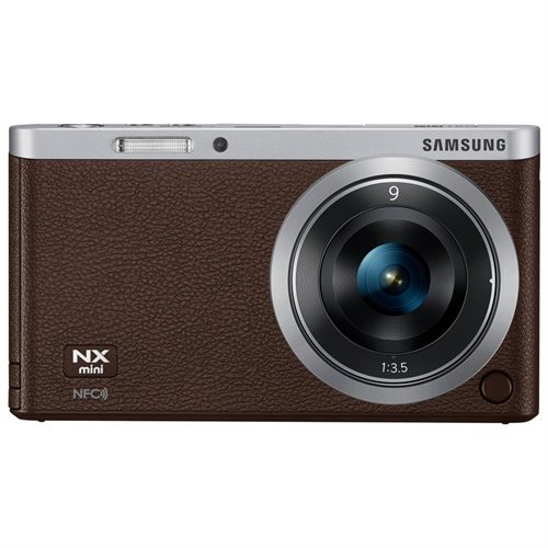 "Samsung NXF1 20.5 Megapixel Mirrorless Camera with Lens - 9 mm - 27 mm - Dark Brown - 3"" Touchscreen LCD - 16:9 - 3x Optical Zoom - Optical (IS) - 5472 x 3648 Image - 1920 x 1080 Video - HDMI - HD Movie Mode - Wireless LAN"