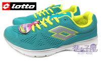 女性慢跑鞋到【巷子屋】義大利第一品牌-LOTTO樂得 女款編織輕旅樂活運動慢跑鞋 記憶鞋墊 [3485] 松綠就在巷子屋推薦女性慢跑鞋