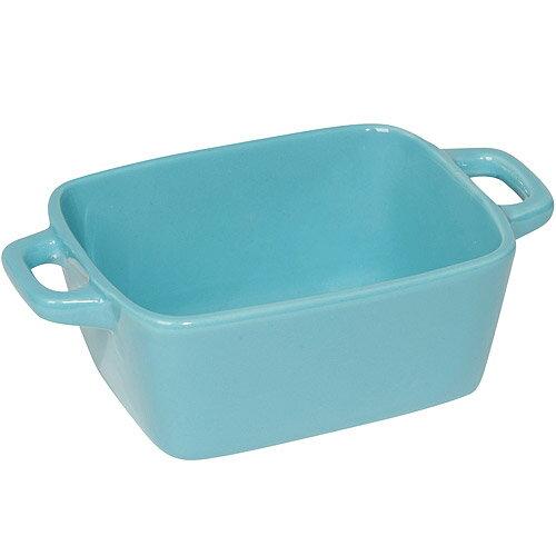 《NOW》陶製焗烤盤4入(藍16cm)