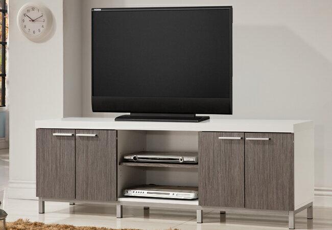 電視櫃 / 歐登5尺四門電視櫃-銀白色/  客廳櫃 / 客廳組  & DIY組合傢俱