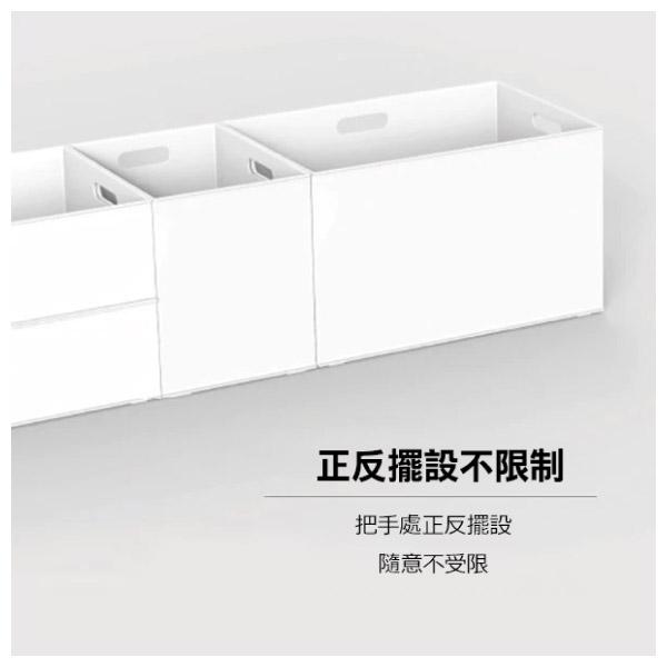 收納盒 直式半格型 N INBOX WH NITORI宜得利家居 9