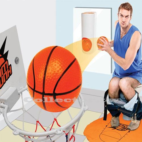 【A15123001】Toilet Basketball 廁所籃球場 馬桶籃球 投籃機 整人玩具/交換禮物