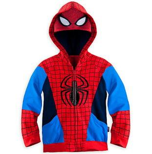 天姿舞蹈戲劇表演服飾特殊造型館:SKW-064-2訂製款兒童春秋季新款歐美時尚男童連帽蜘蛛人造型外套