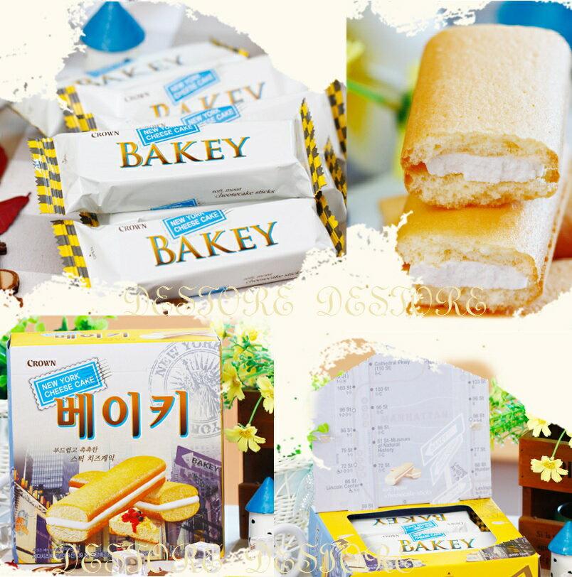 有樂町 期間限定 韓國進口 CROWN 奶油夾心蛋糕卷