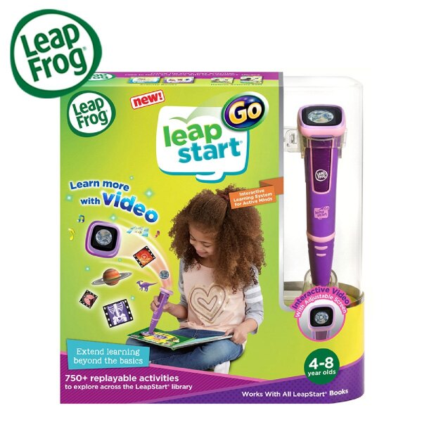 美國 LeapFrog 跳跳蛙 LeapStart Go點讀Go學習筆|點讀筆(綠 / 粉) 7
