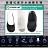 韓國抗菌奈米銅隱形襪(男 / 女) (微電流奈米銅專利織布製成) 3雙 / 袋 (白 / 藍 / 黑)襪子 / 隱形襪 / 男女可穿 3