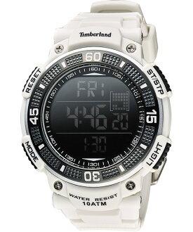 Timberland 天柏嵐 TBL.13554JPGY/02多功能數位腕錶/白50mm