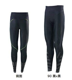 (陽光樂活)- MIZUNO 美津濃 男款 BG8000 II 第二代 頂級機能壓縮緊身褲 K2MJ5B0190 黑x黑