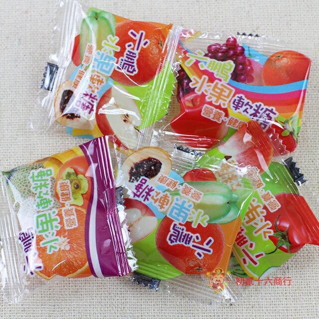 【0216零食會社】六鵬-維他命水果軟糖100g