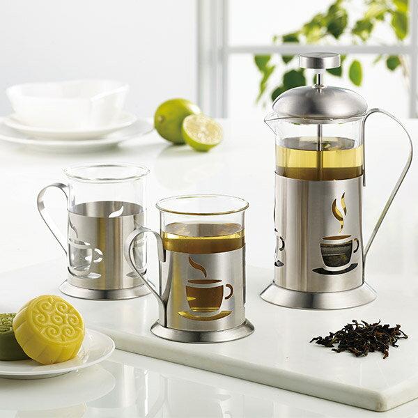 妙管家 優質沖茶器組/泡茶組(一壺二杯) HKP-2-400 0