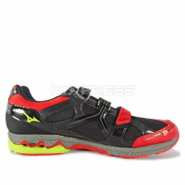 Mizuno Wave Idaten Dyna BT [J1GA148905] 女鞋 運動 走路 跑步 避震 美津濃 紅 1