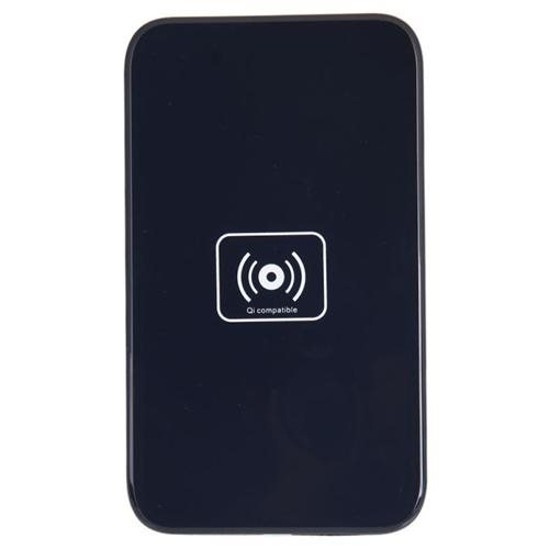 QI Wireless Charger + USB Cable Black 2