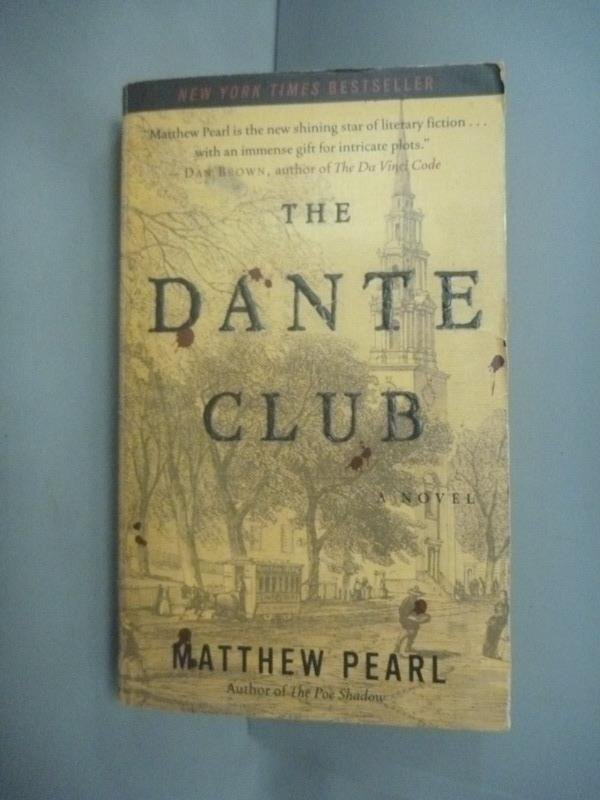 ~書寶 書T1/原文小說_HHE~The Dante Club_Pearl Matthew