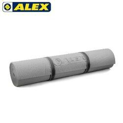 【H.Y SPORT】ALEX 瑜珈墊-有氧 塑身 地墊 灰C-1803-12(附提袋)
