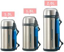 預購 日本原裝 象印不鏽鋼保溫保冷瓶 輕巧 廣口 1.3L 1.5L 2.0L 日本必買