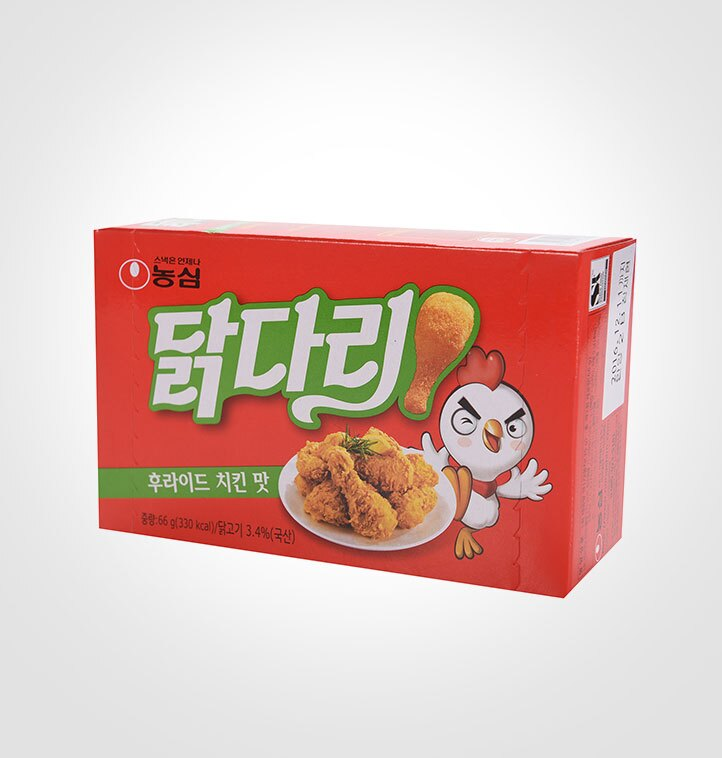 農心 棒棒腿造型餅乾(韓式炸雞風味) 66g