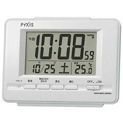 【代購】日本 SEIKO精工 NR535 數位時鐘 鬧鐘 溫度 濕度 日期 NR535H  (白色)【星野日貨】