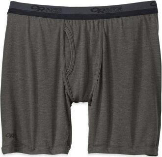 Outdoor Research 男性內著/運動內褲/排汗內褲 美麗諾羊毛四角內褲(男) Sequence 242875 0890灰