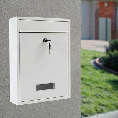 信箱 信報箱總經理郵筒收件箱家用掛壁報室外防水帶鎖歐式意見箱『TZ1000』 0