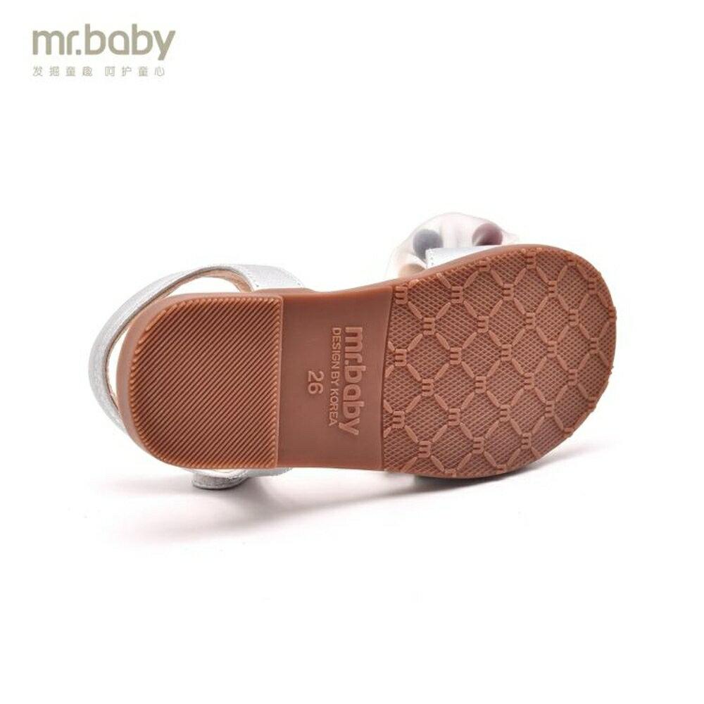 mrbaby兒童涼鞋女公主鞋2019夏寶寶童鞋小女孩軟底女童涼鞋小公主