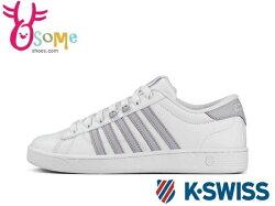 K-SWISS HOKE CMF 女款 休閒鞋 白鞋 運動鞋 記憶鞋墊 #白紫 C9925 ◆OSOME奧森鞋業