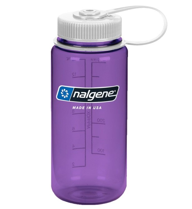 Nalgene 寬嘴水壺/運動水瓶 Tritan 500cc 美國製 682009-0573 紫色