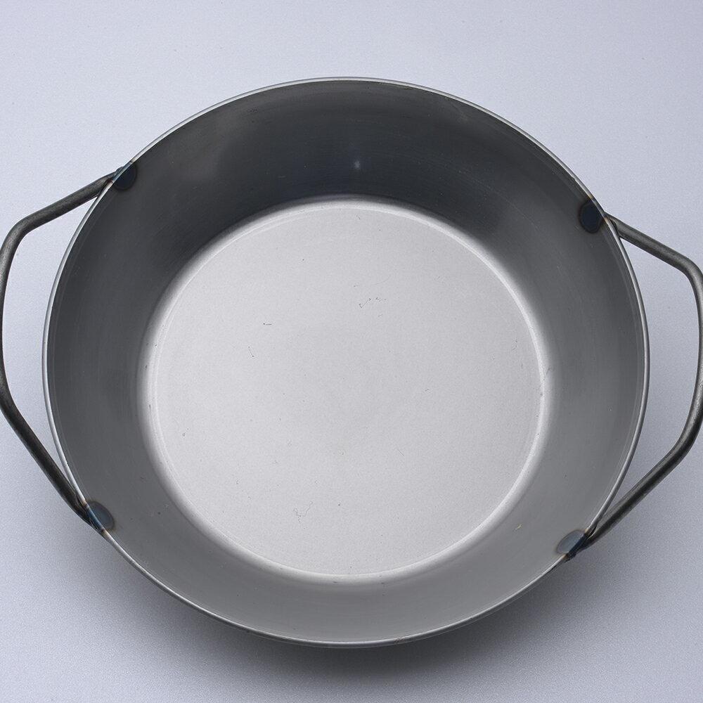 【德國Turk】Turk 土克鍋 冷鍛 雙耳 碳鋼鍋 鐵鍋 26cm 66926 德國製(Turk鐵鍋 Turk雙耳鍋 Turk冷鍛) 2