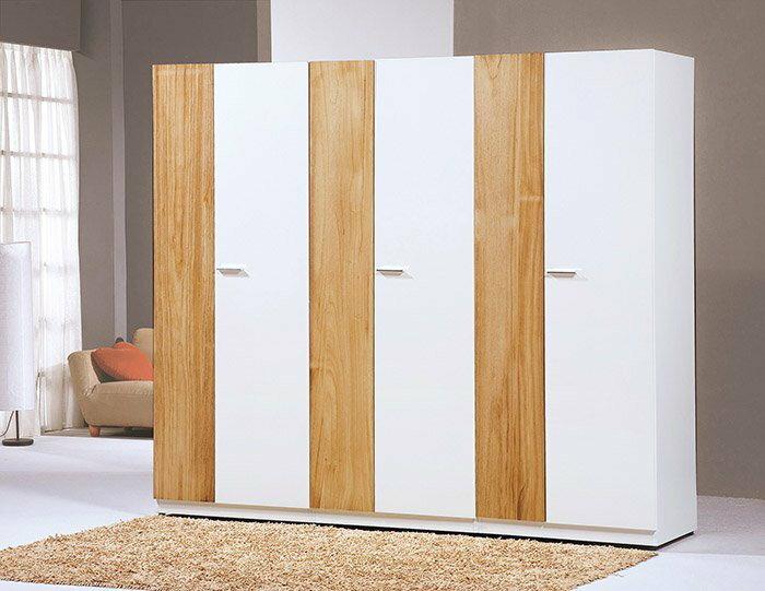【尚品家具】HY-A87-03 米堤風化木2.5尺單吊隔板衣櫥