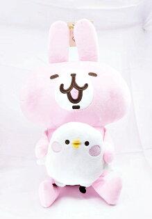 X射線【C050919】卡娜赫拉Kanahei12吋玩偶-抱小雞,絨毛填充玩偶玩具公仔抱枕靠枕娃娃
