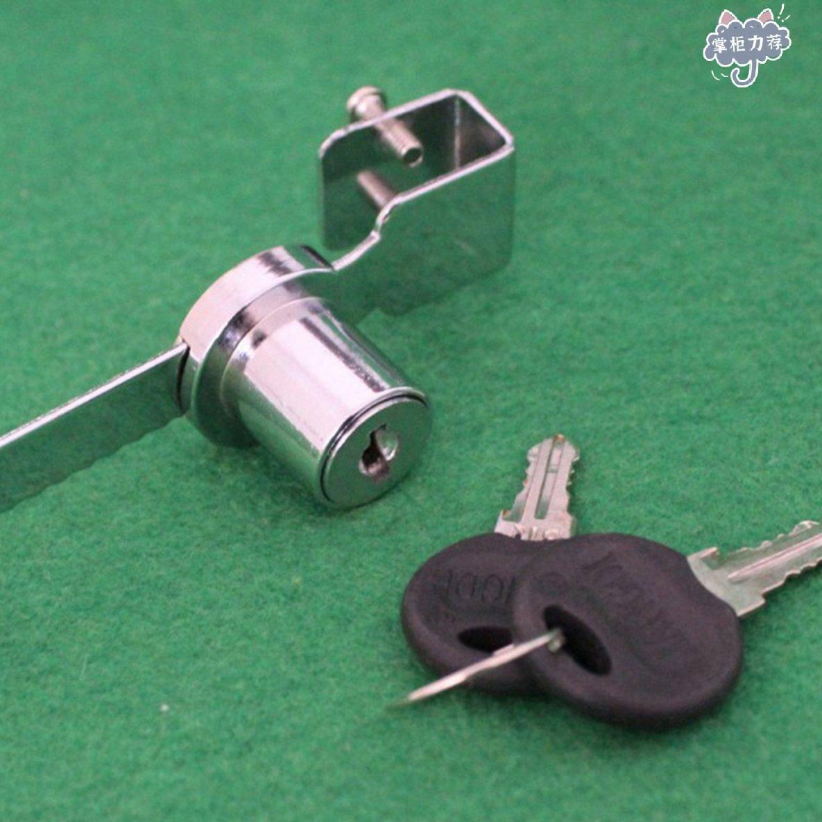 【全館免運】耐用的展示櫃展示櫃,帶2把鑰匙的滑動玻璃門窗鎖