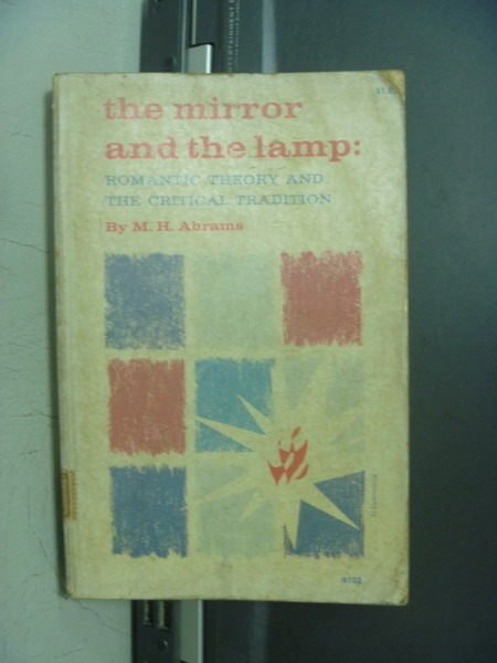 【書寶二手書T8/原文小說_OOK】The mirror and the lamp_M.H.Abrams