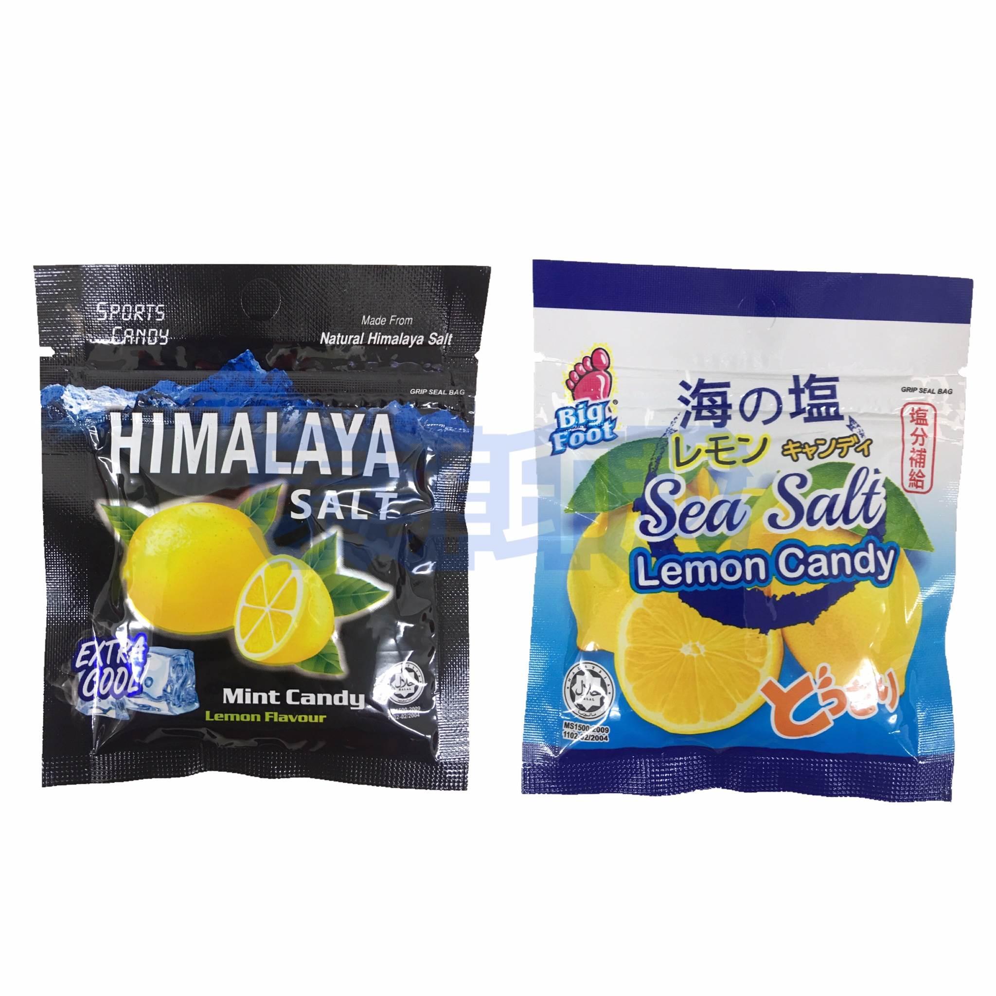 馬來西亞 BF海鹽檸檬糖 薄荷玫瑰鹽檸檬糖15克