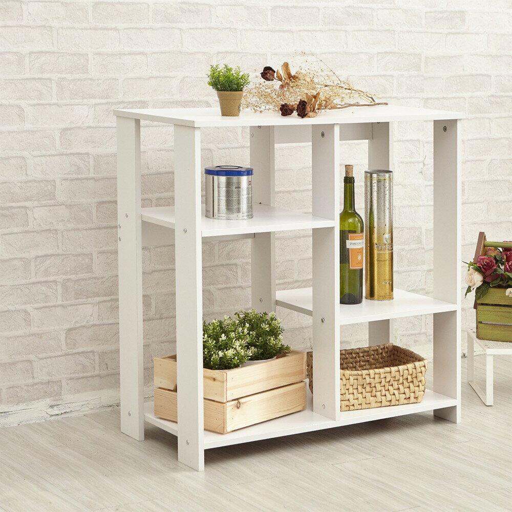 L【tidy house】實木北歐風置物架/廚房收納櫃櫥櫃/廚房收納/書櫃/置物架/餐邊櫃