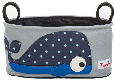 小烏龜精品童裝店:加拿大3Sprouts推車置物袋-小鯨魚台灣授權代理商