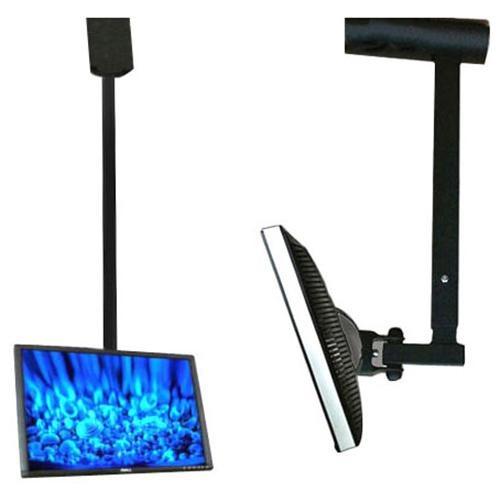VideoSecu Tilt Swivel TV Ceiling Mount for Vizio 19 24 26 27 28 29 inch D24h-E1 D24hn-E1 LCD LED 1E7 3