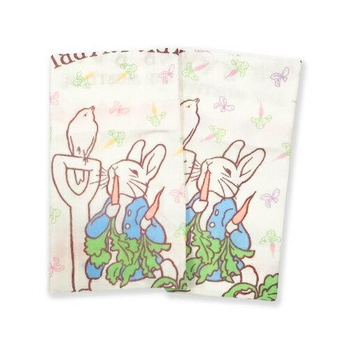 彼得兔比得兔精梳棉紗布手帕巾(顏色隨機出貨)HK702S-P★衛立兒生活館★