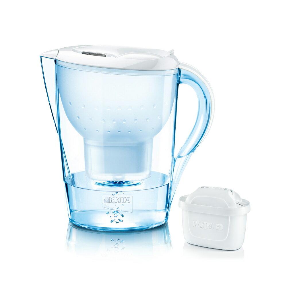 【BRITA】德國進口 Marella 馬利拉淨水器/淨水壺/濾水壺 3.5L(內含1支濾芯)t