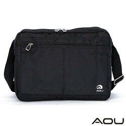 【AOU微笑旅行】無敵五層收納斜背包 休閒包-大(105-008A)