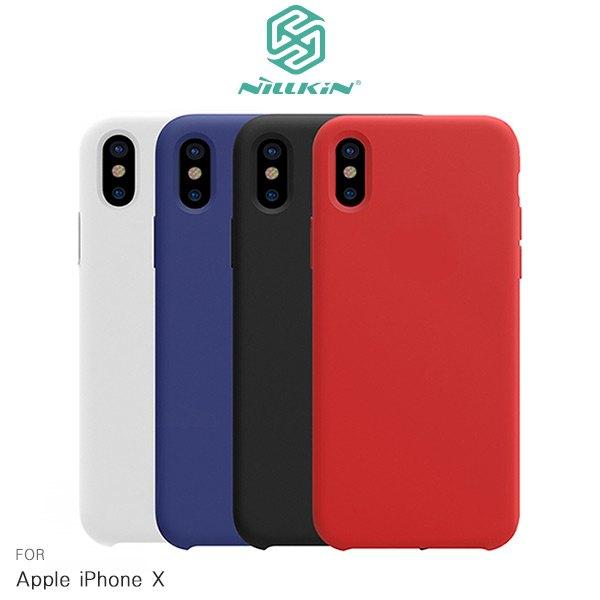 NILLKIN Apple iPhone X 感系列液態矽膠殼 手機殼 矽膠殼 保護殼