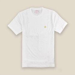 美國百分百【Brooks Brothers】布克兄弟 T恤 T-shirt 上衣 短袖 素面 logo 白色M-XL I391