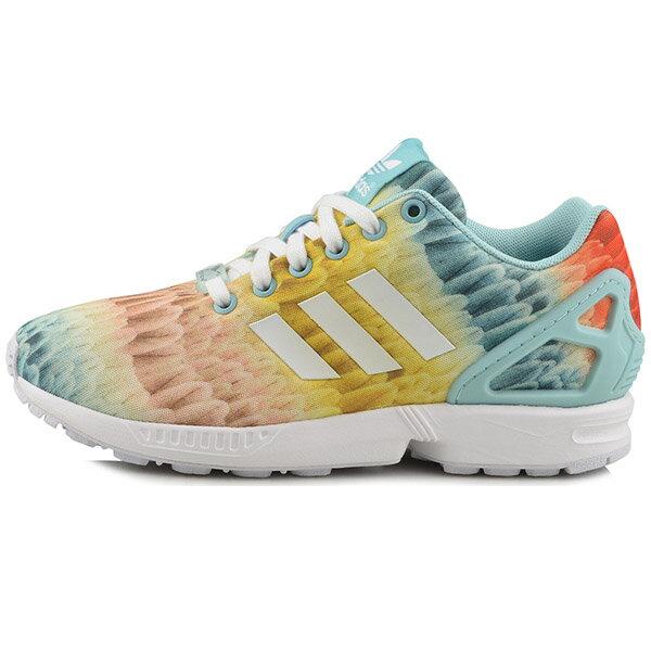 【ADIDAS】ZX FLUX W 休閒鞋 流行鞋 女鞋 -B25485